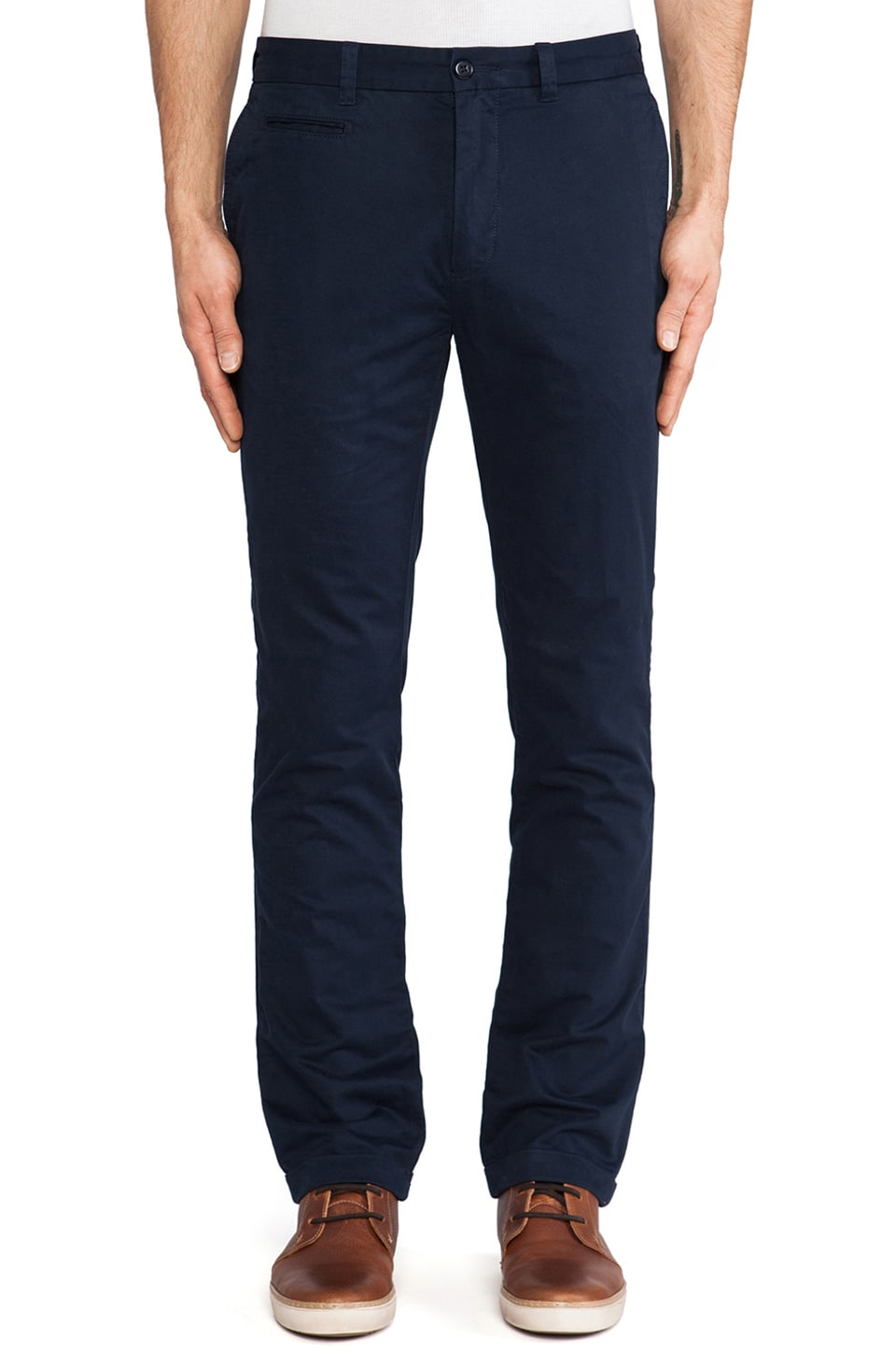 life/after/denim Claska Chino in Navy