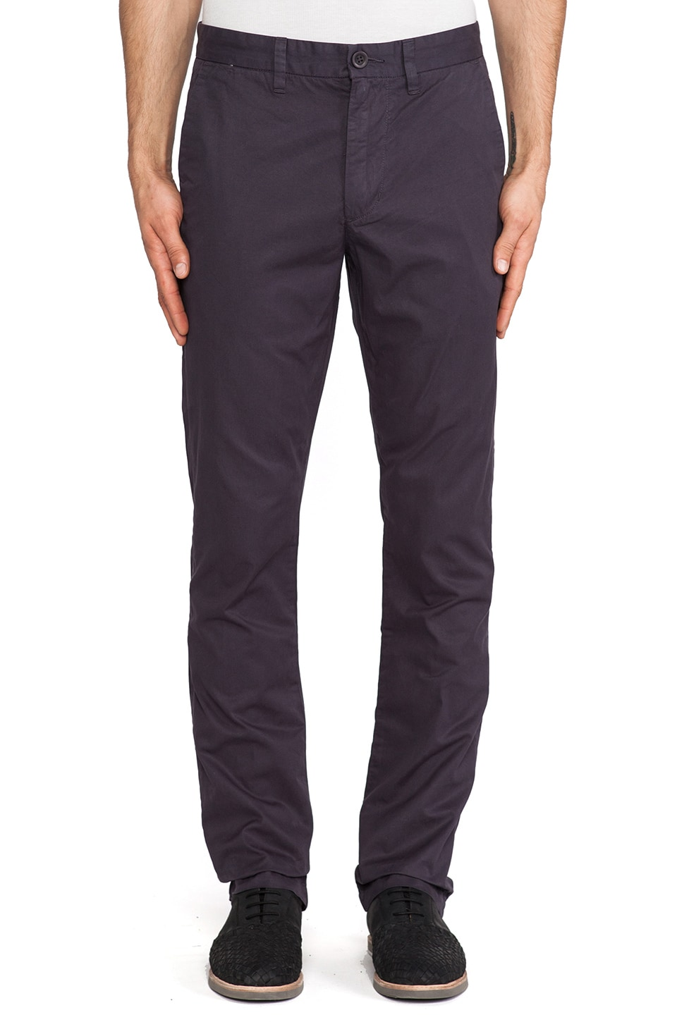 life/after/denim Slim Fit Chino in Japanese Eggplant