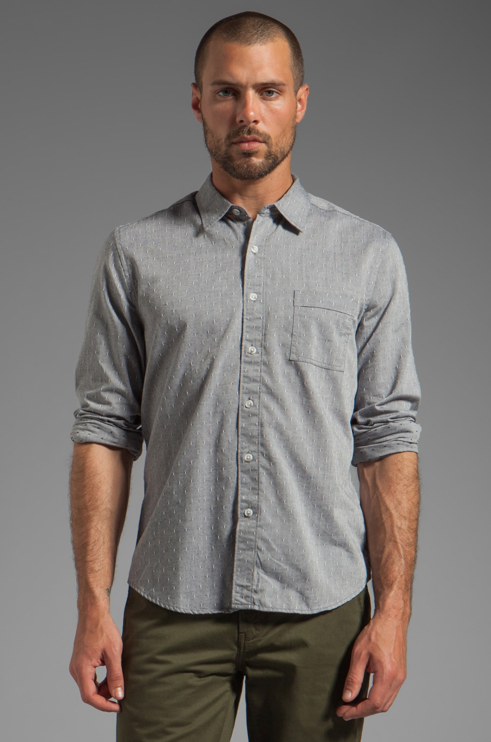 life/after/denim Market Street Shirt in Nightsky