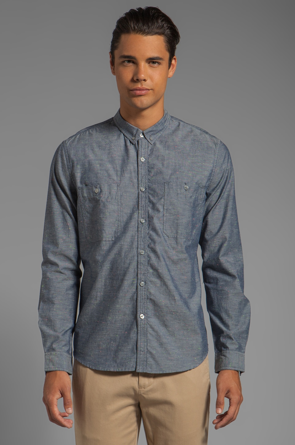 life/after/denim St Thomas Shirt in Greystone