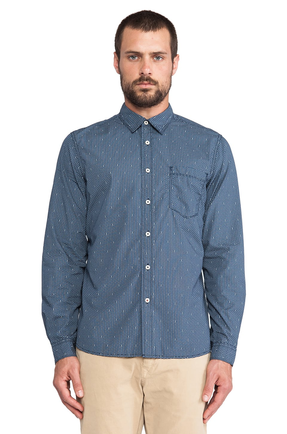 life/after/denim Bandana Shirt in Ink