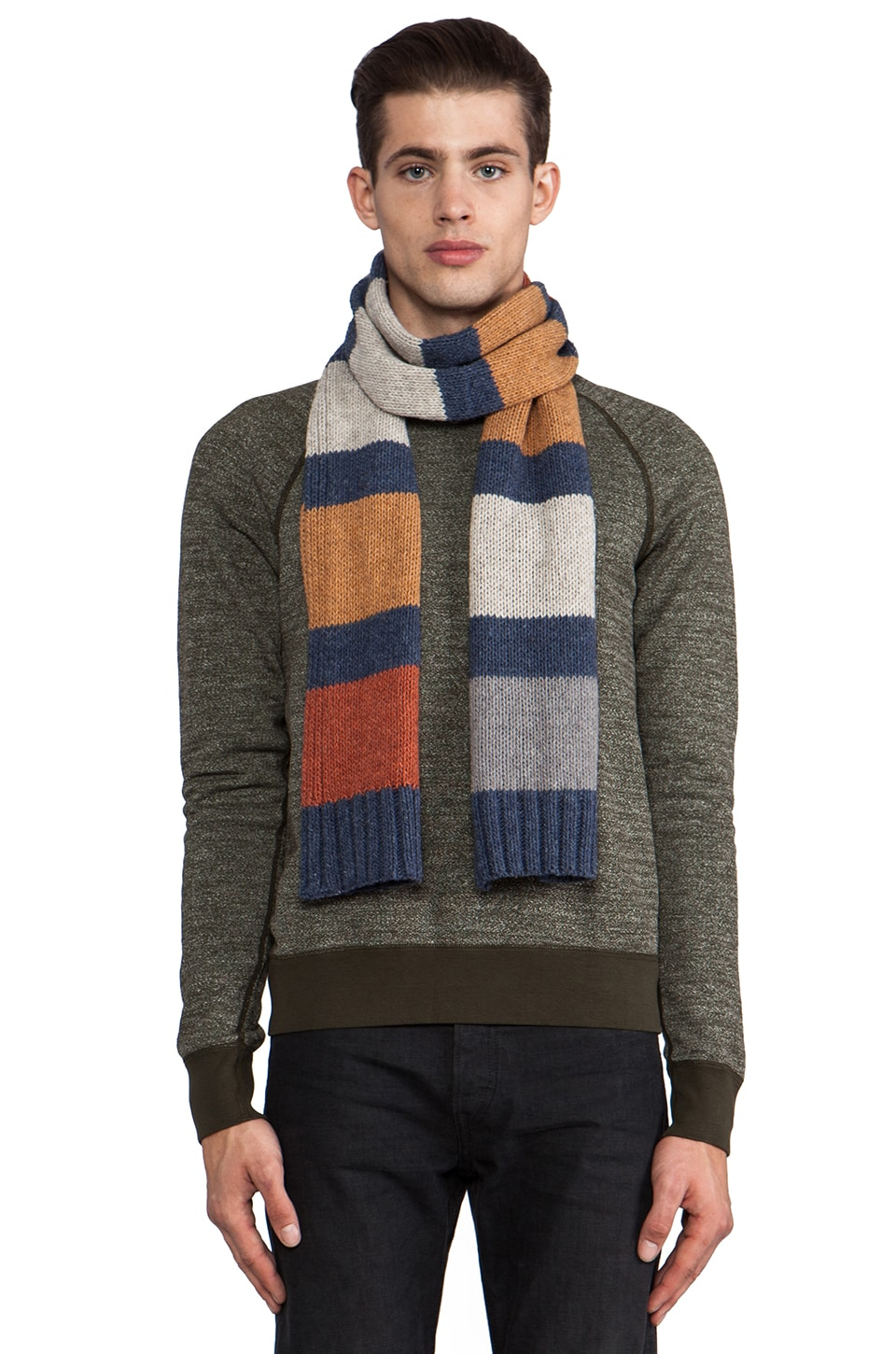 life/after/denim Squanto Scarf in Pumpkin Spice Combo