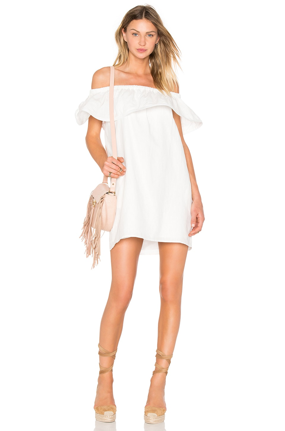 Concorde Ruffle Dress