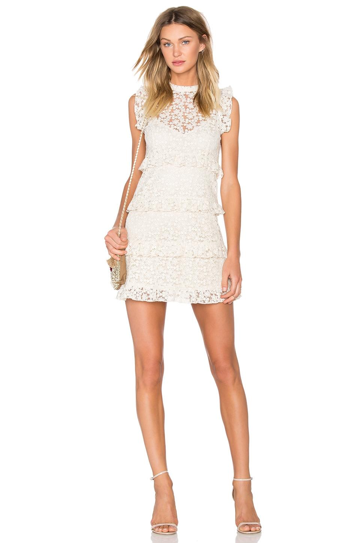 Line & Dot Twiggy Dress in Cream
