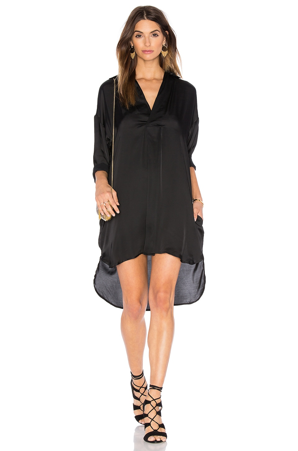 Rampling Shirt Dress by Line & Dot