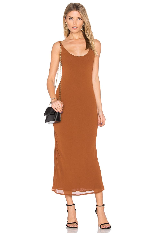 Rima Bias Maxi Dress by Line & Dot