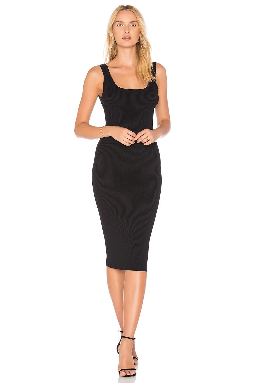 Line & Dot Perren Dress in Black
