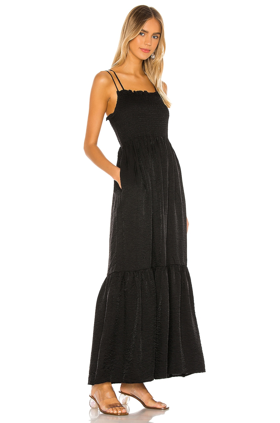 Blaque Maxi Dress, view 2, click to view large image.