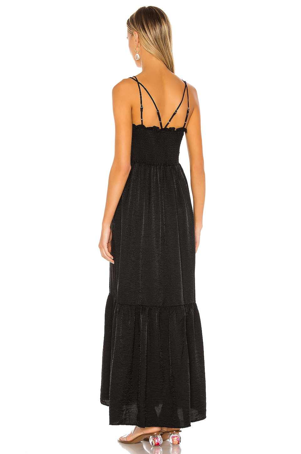 Blaque Maxi Dress, view 3, click to view large image.