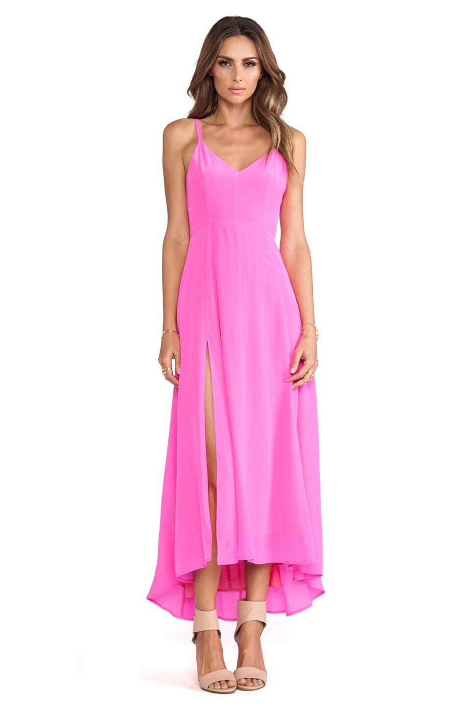 Line & Dot Grace Cami Dress in Fuchsia