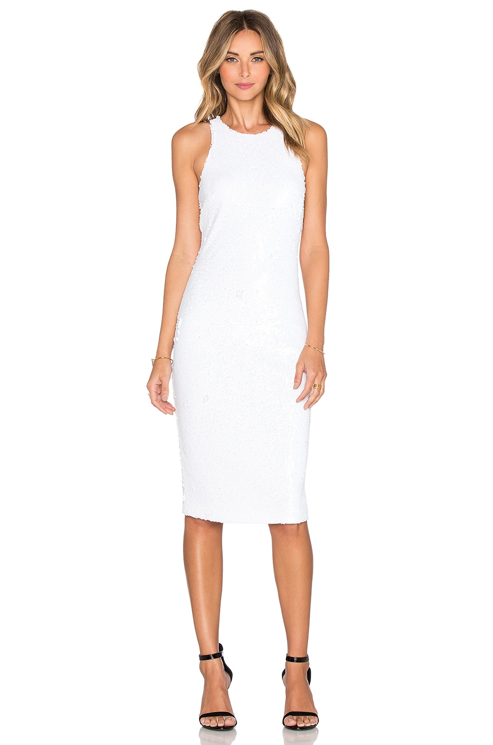 Buy Royale Halter Dress by Line & Dot