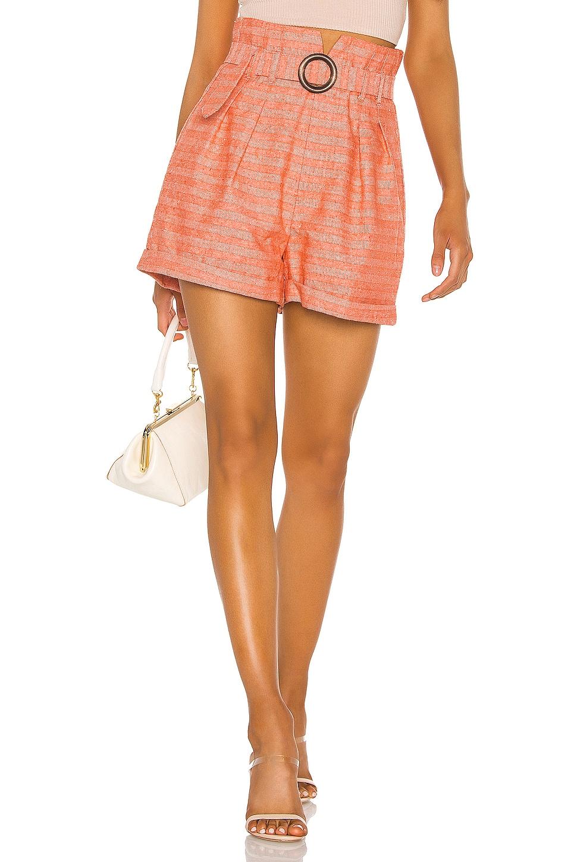 Line & Dot Zoe Short in Orange