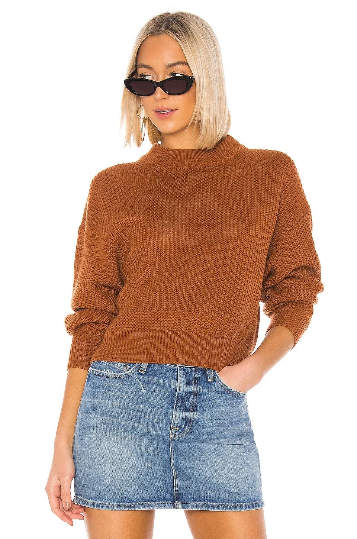Line & Dot Sienna Sweater in Camel