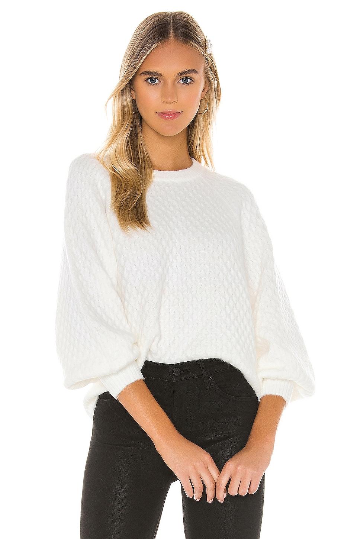 Line & Dot Jillian Sweater in Ivory