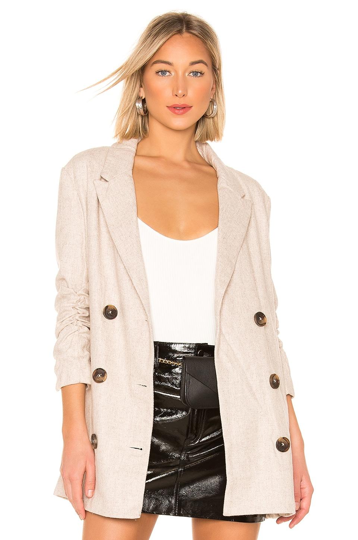 Line & Dot X REVOLVE Bon Jacket in Beige
