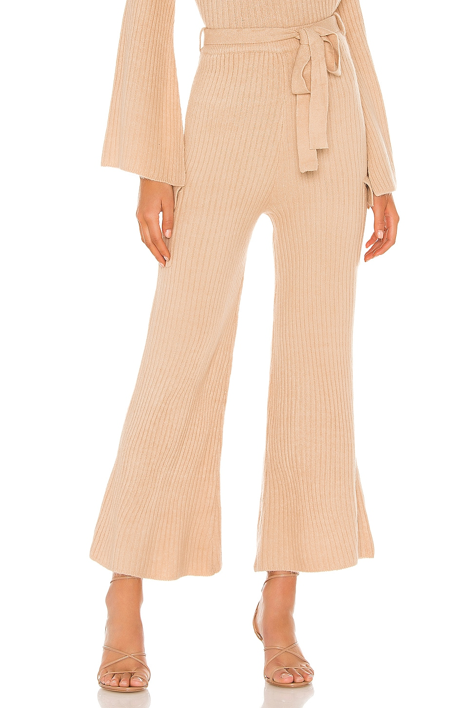 Line & Dot Ryder Sweater Pant in Taupe