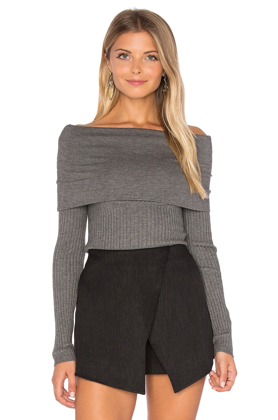 Lea Off Shoulder Top by Line & Dot