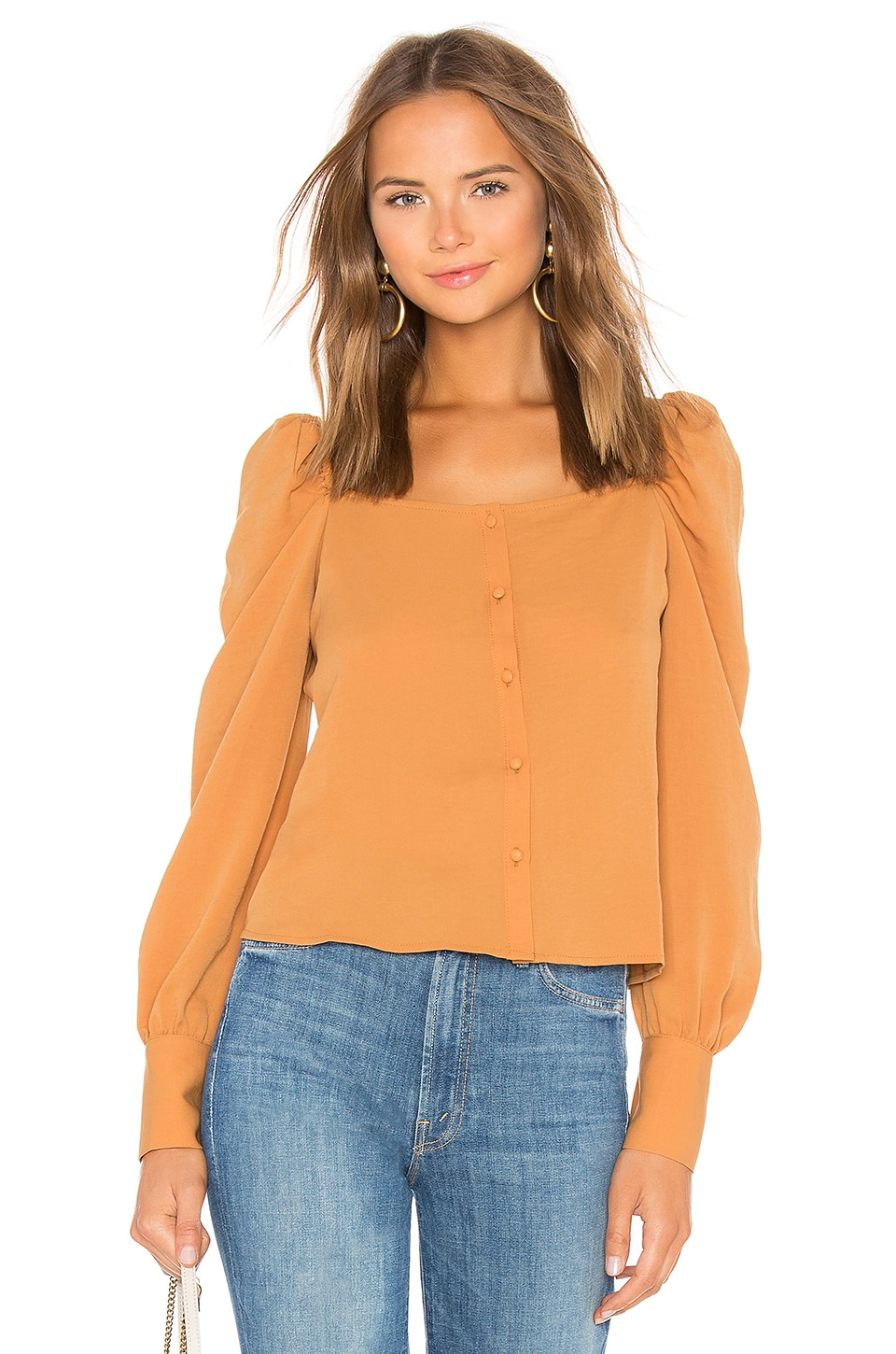 Thea Square Neck Blouse