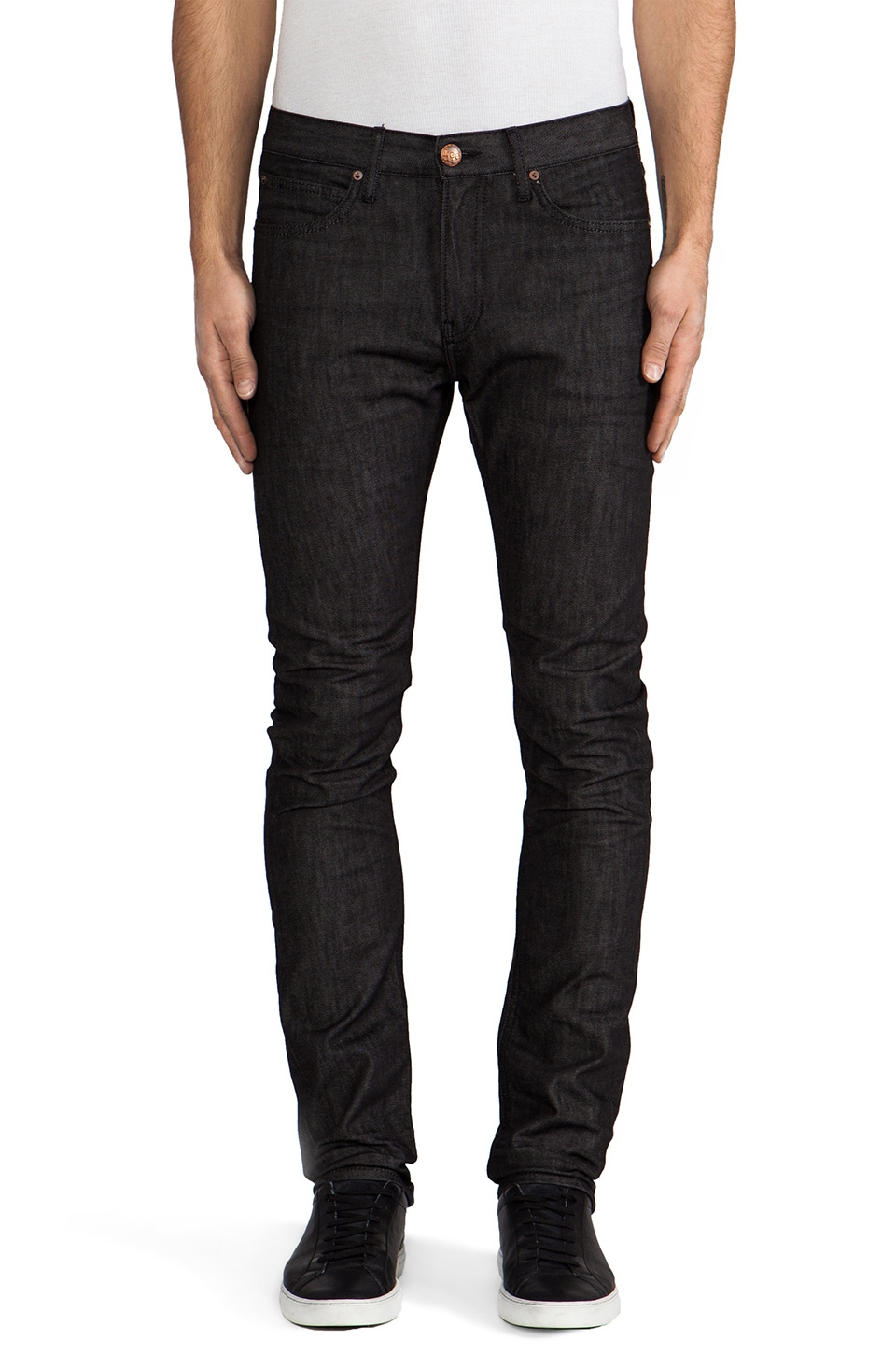 Lee 101 Contoured Slim Flex en KC Wet Black