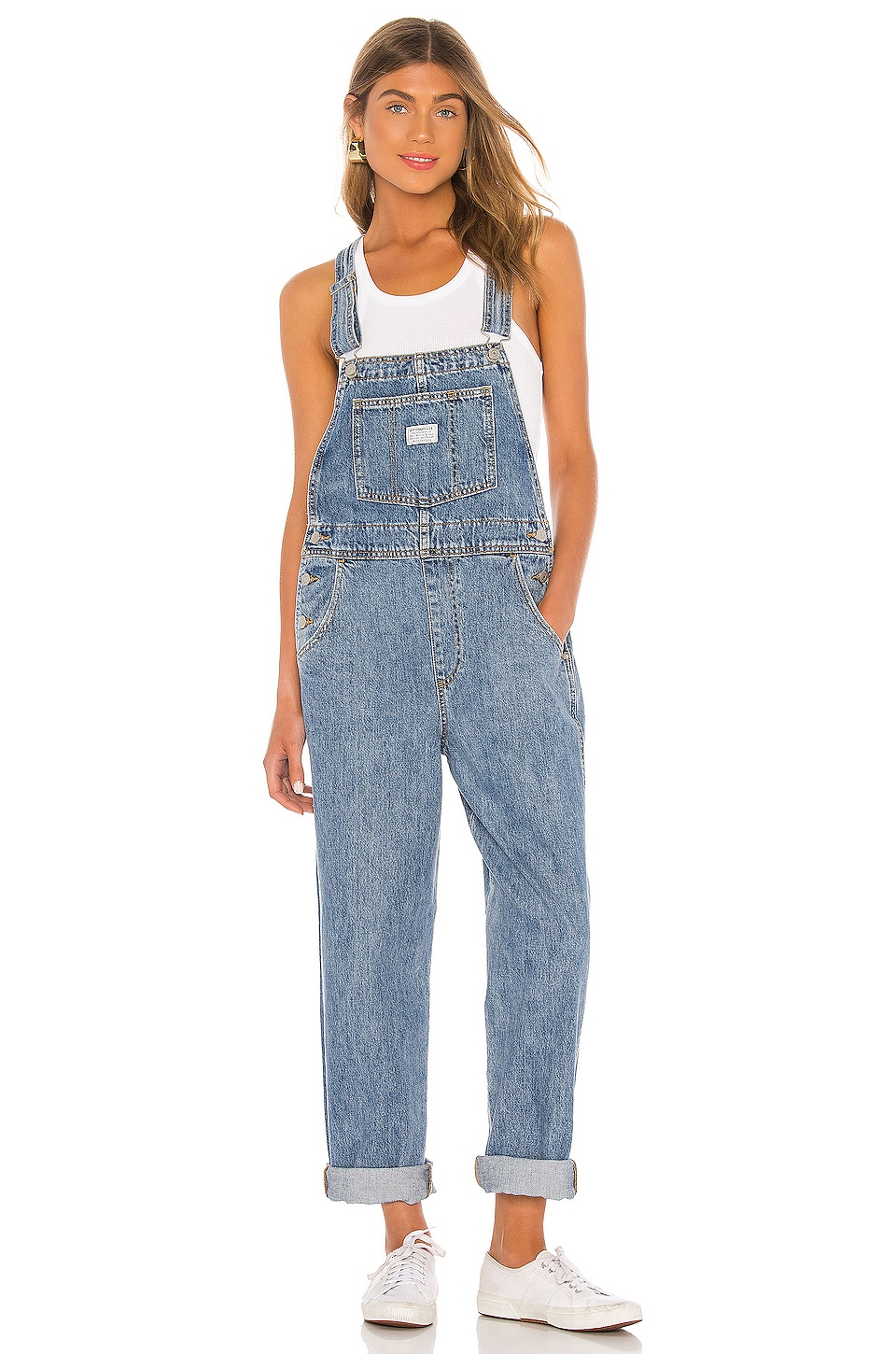 LEVI'S Vintage Overall in Dead Stone