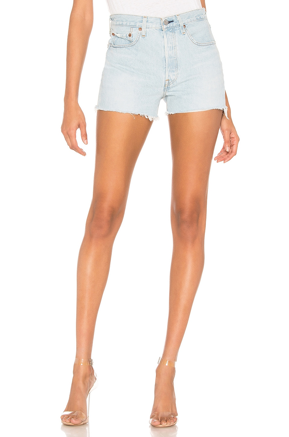 LEVI'S SHORT VAQUERO 501 HIGH RISE