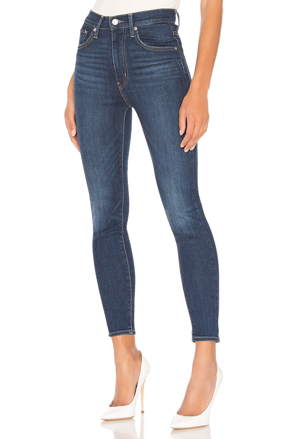 LEVI'S Mile High Skinny in Unbasic Blue
