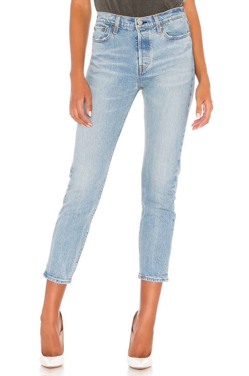 LEVI'S JEAN JAMBES FUSELÉES WEDGIE ICON