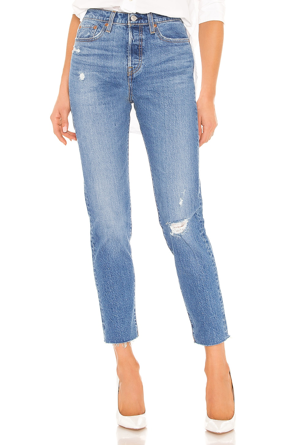 LEVI'S JEAN JAMBES FUSELÉES WEDGIE ICON FIT