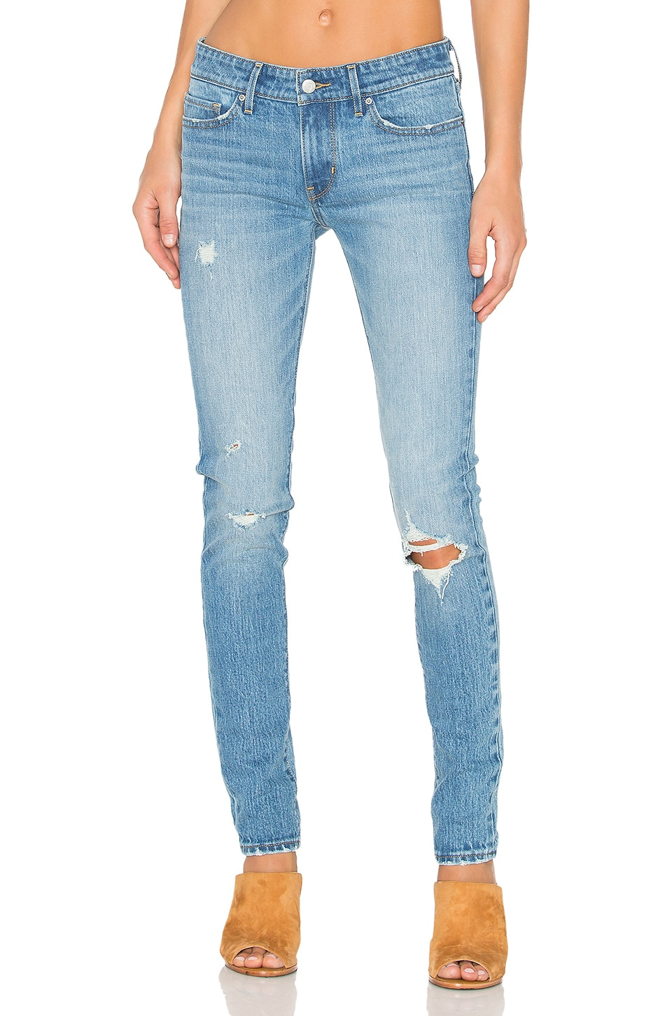 LEVI'S 711 Skinny in Goodbye Heart