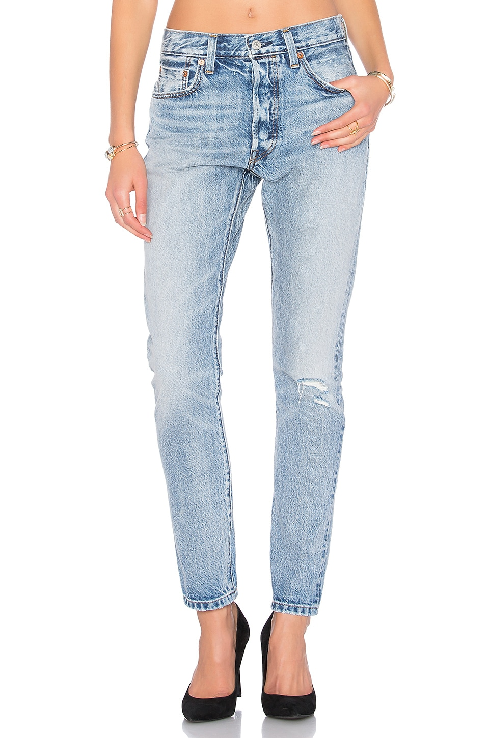 LEVI'S 501 Skinny in Summer Dune