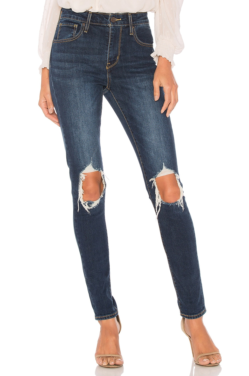 LEVI'S 721 High Rise Skinny in Rough Day