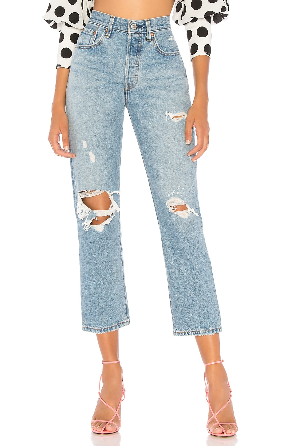 LEVI'S 501 Crop in Authentically Yours