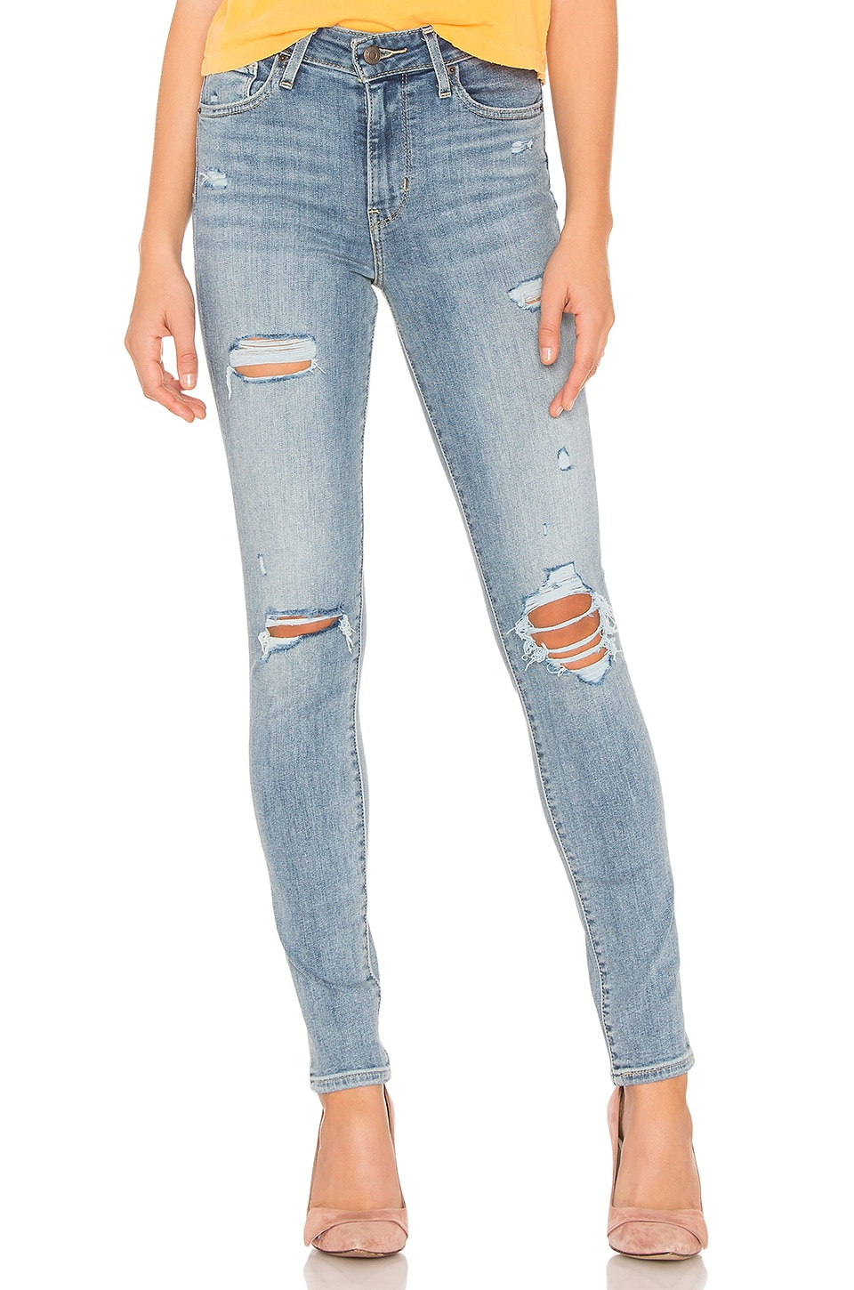 LEVI'S 721 High Rise Skinny in Say Anything