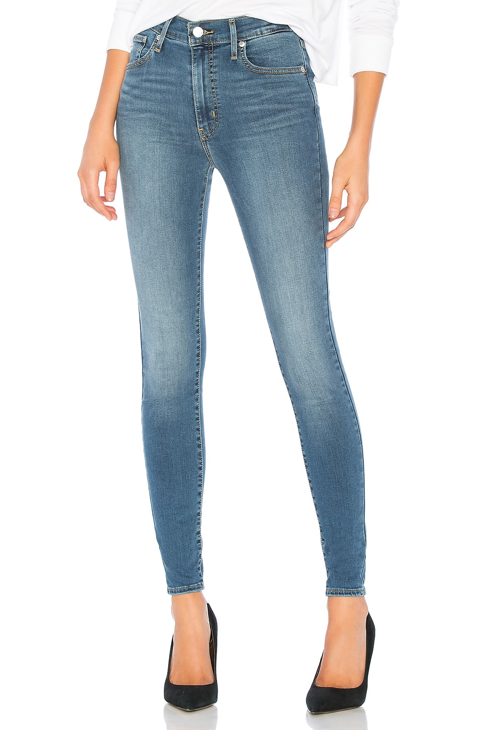 LEVI'S Mile High Super Skinny in Indigo Lounge