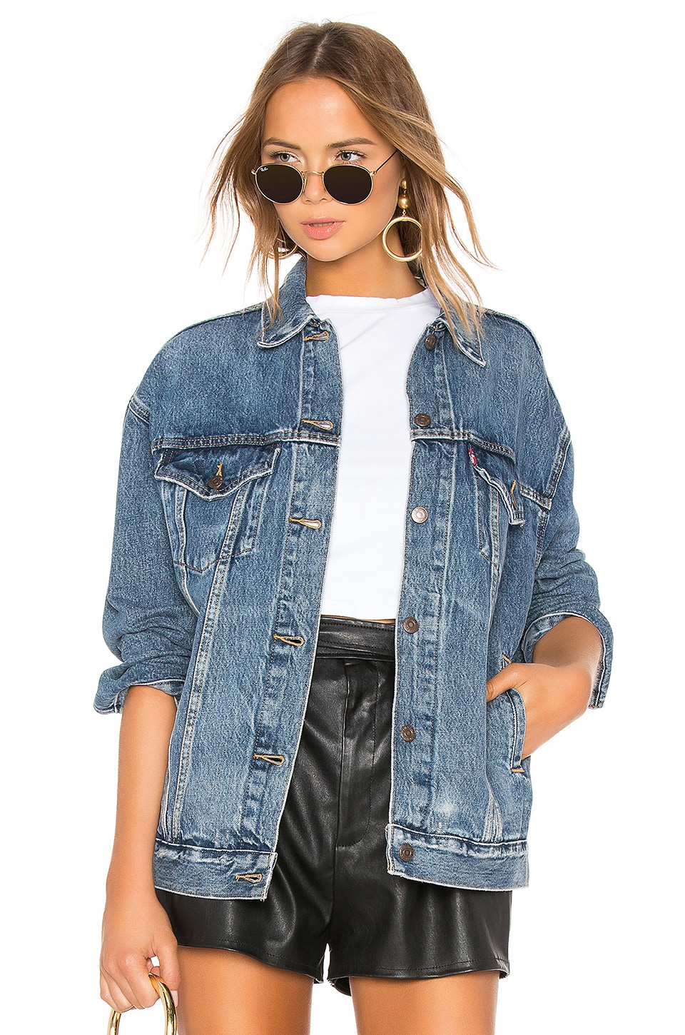 LEVI'S Baggy Trucker Jacket in Bust A Move