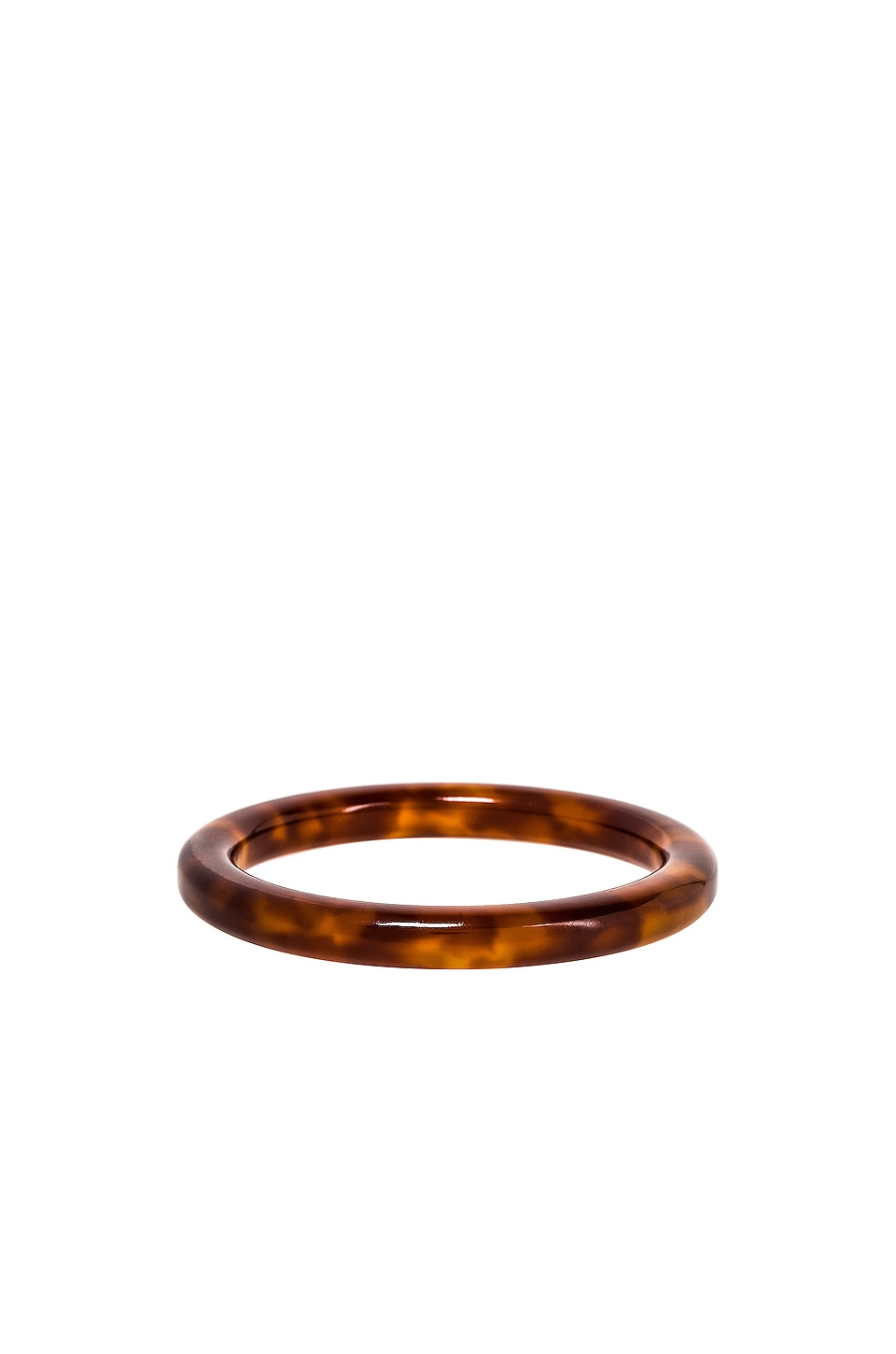Lele Sadoughi LELE SADOUGHI BROADWAY BANGLE IN BROWN.