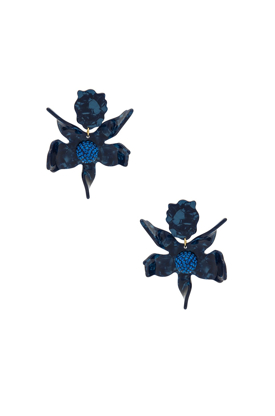 Crystal Lily Earring