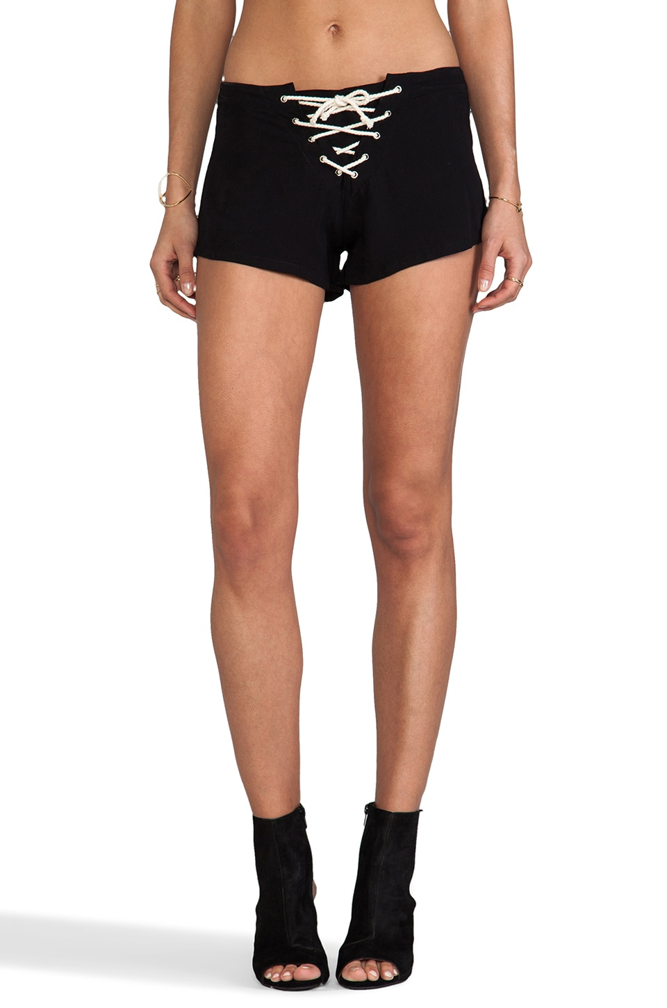 LENNI Jimi Short in Black