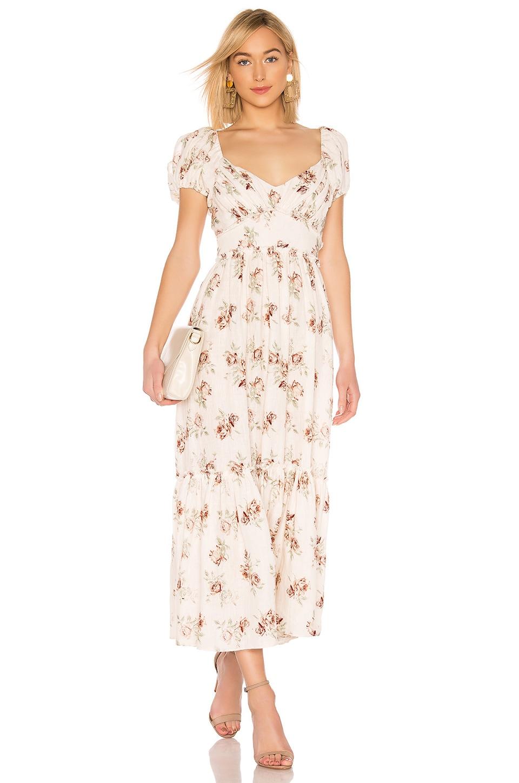 LoveShackFancy Angie Dress in Dream
