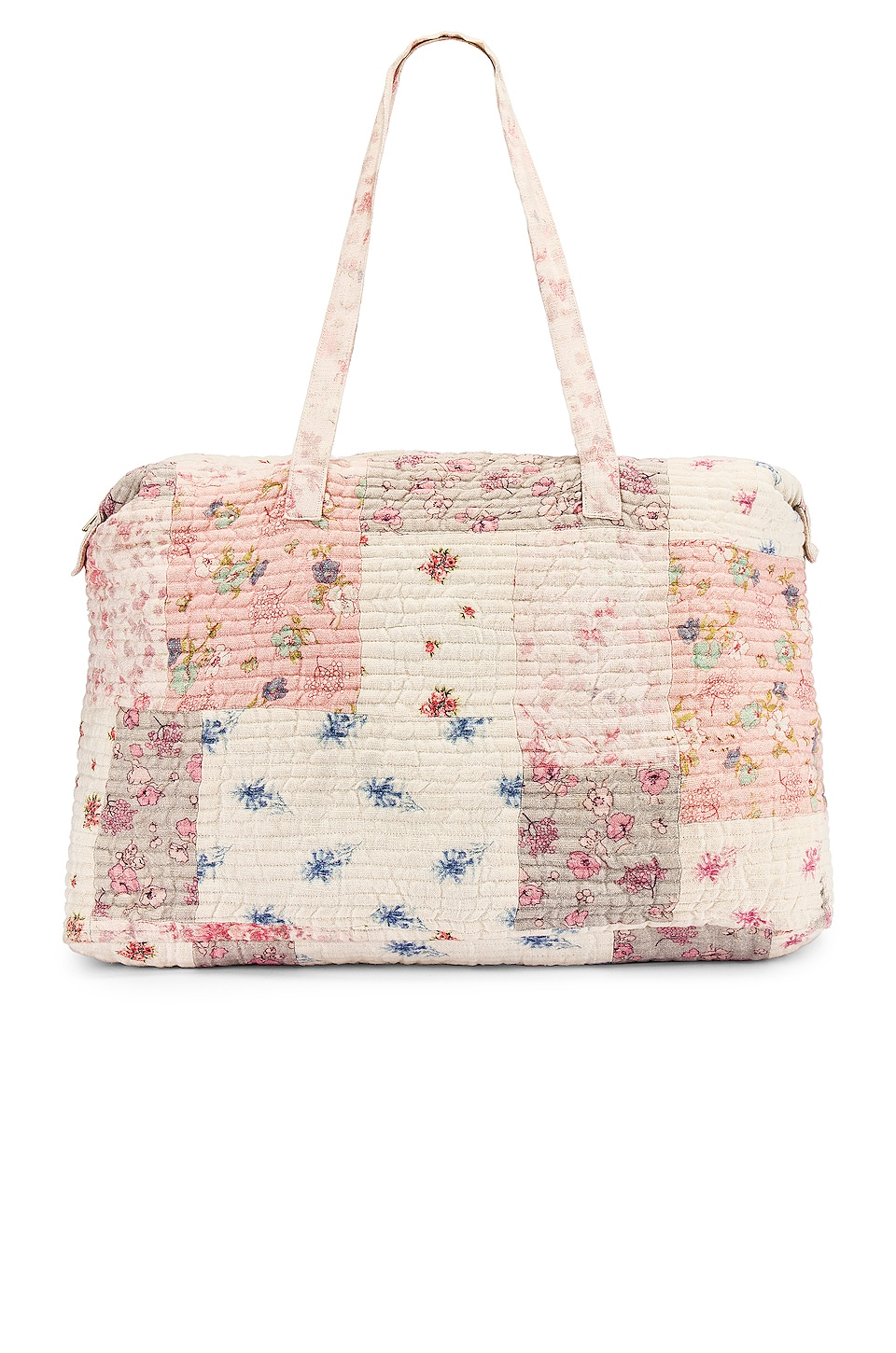 LoveShackFancy Oran Weekend Bag in Multi