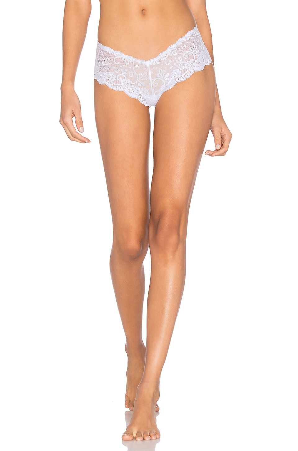 Les Coquines Evi Lace Cheeky in Blanc