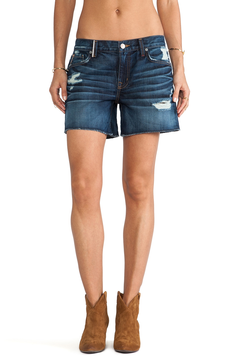 Level 99 Lily Relaxed Fit Short in Moet