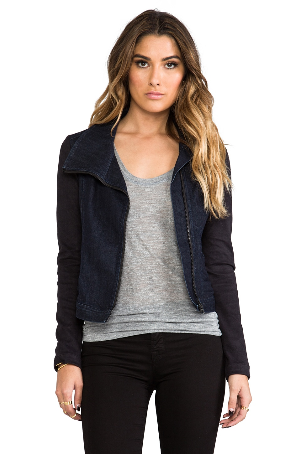 Level 99 Contrast Jacket in Empire