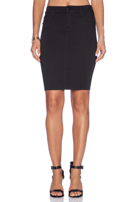 Level 99 Janice Pencil Skirt in FB Black