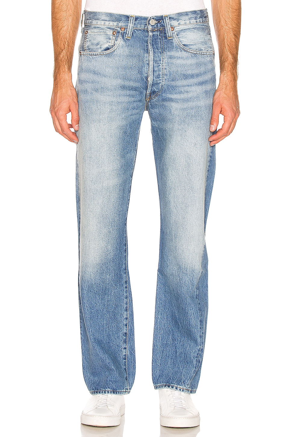 LEVI'S Vintage Clothing 1947 501 Jeans in Moon Rock