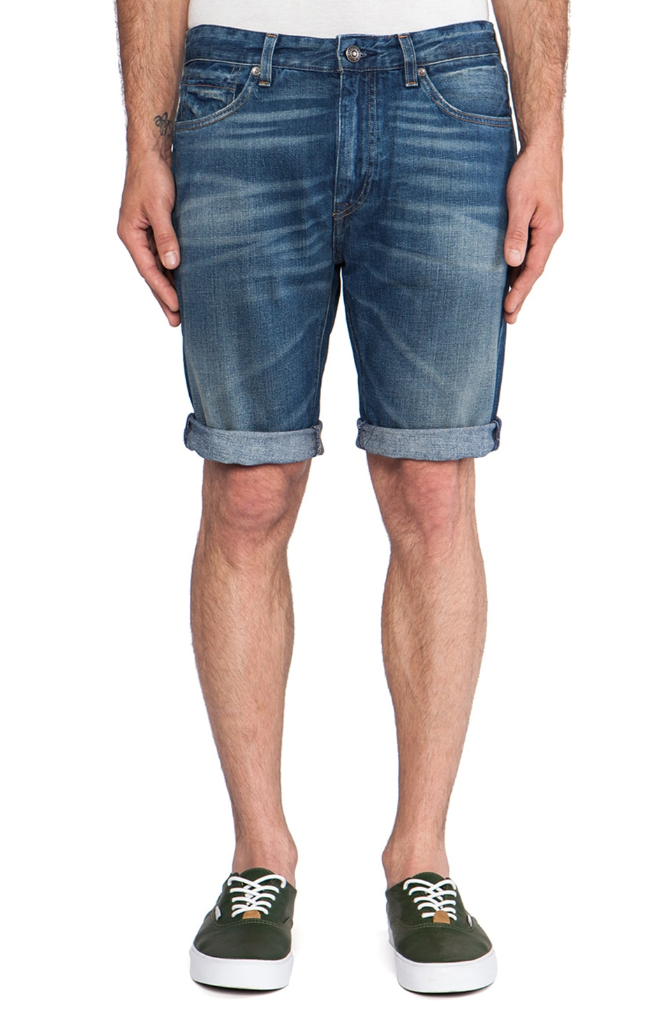 LEVI'S: Made & Crafted Shuttle Shorts in Surfdog