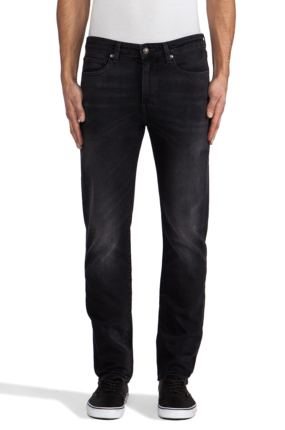 LEVI'S: Made & Crafted Needle Narrow in Black Pine