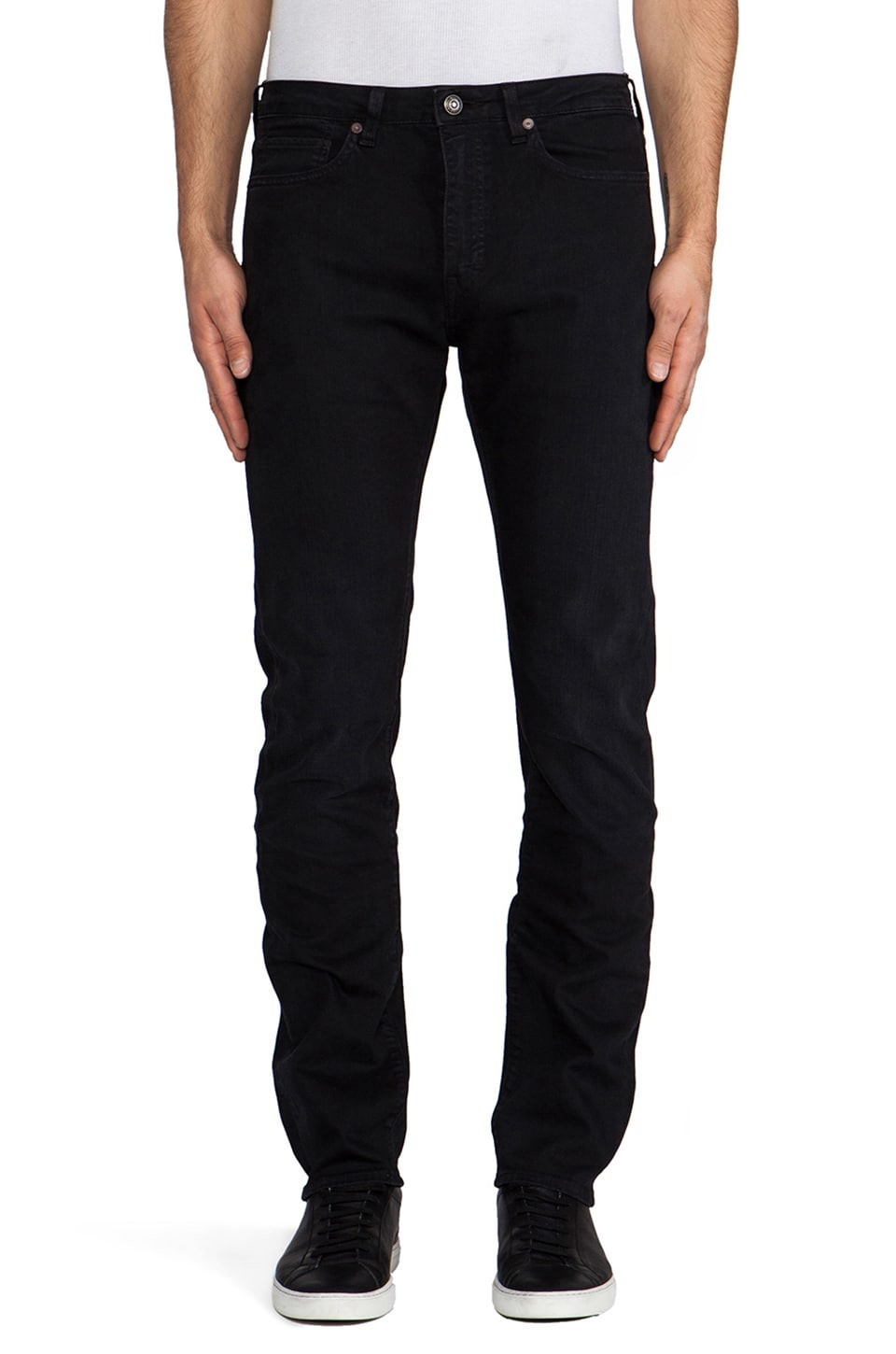 LEVI'S: Made & Crafted Tack Slim in Black Lagoon