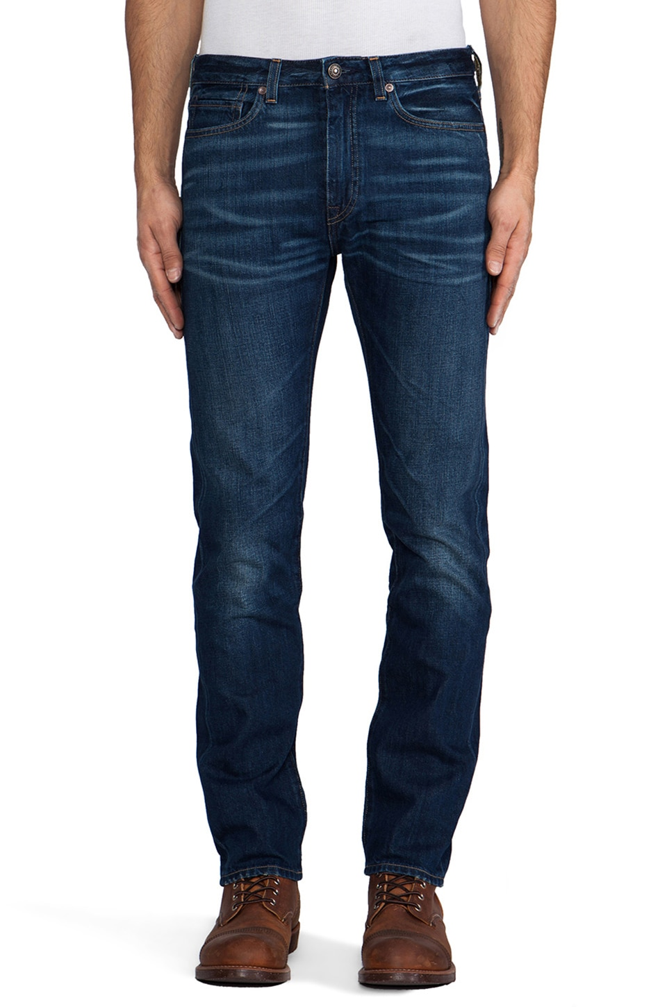 LEVI'S: Made & Crafted Tack Slim in Sea Breeze