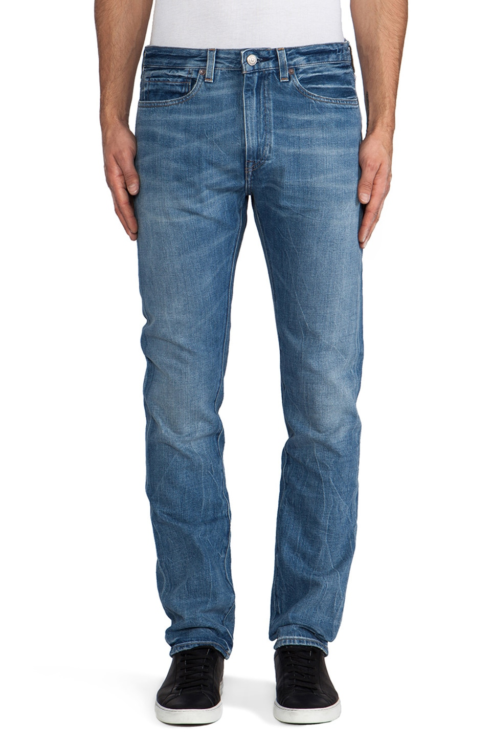 LEVI'S: Made & Crafted Tack Slim in Thunder